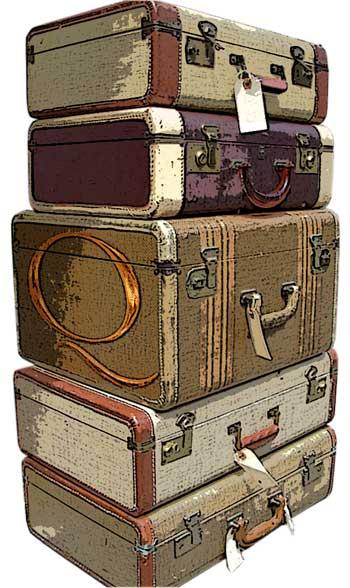 Historias en una maleta Old+Suitcases