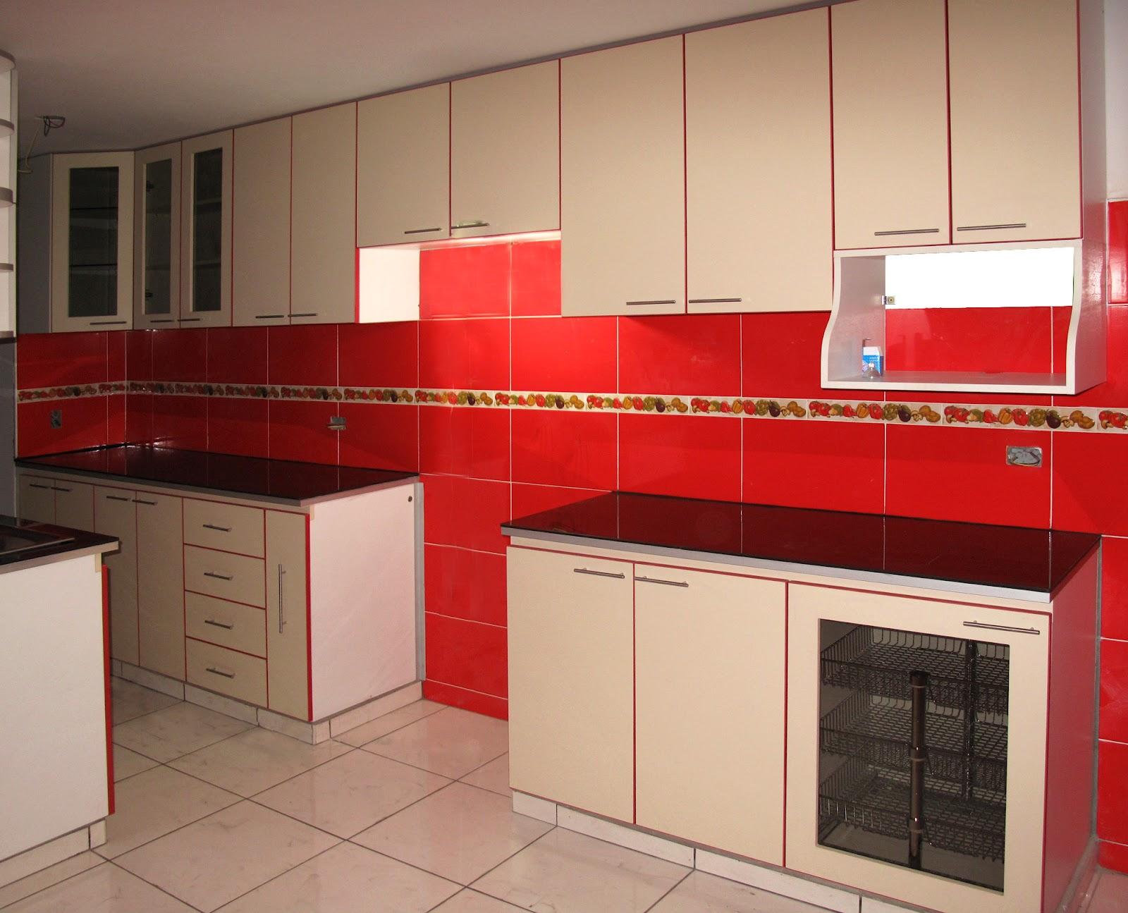 Muebles de cocina en melamina for Cocinas de melamina