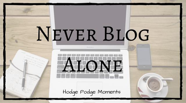 Never Blog Alone