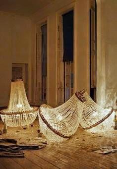lamparas de araña
