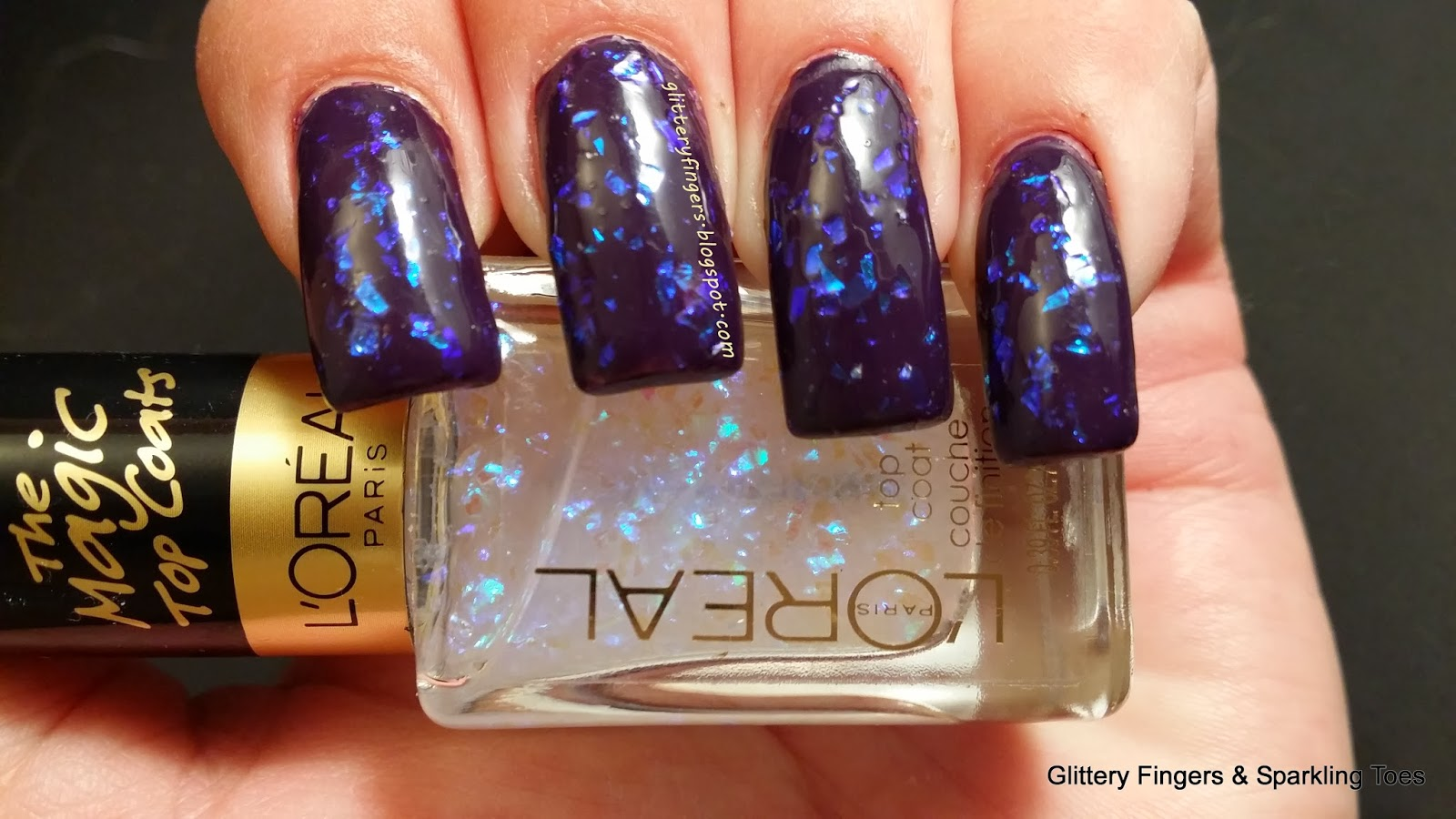 Glittery Fingers & Sparkling Toes: Review: Loreal The Magic Top ...