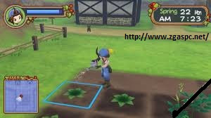 Download Harvest Moon Hero of Leaf Valley PSP ISO Full Version For PC ZGASPC