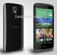 HTC Desire 526G Plus (Glossy Black, 16GB)