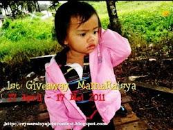 """1st Giveaway dari MamaRaisya"""