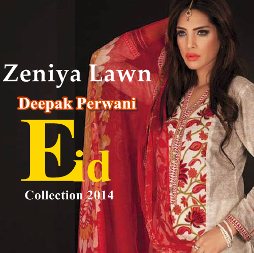 Zeniya DPerwani Eid Collection 2014