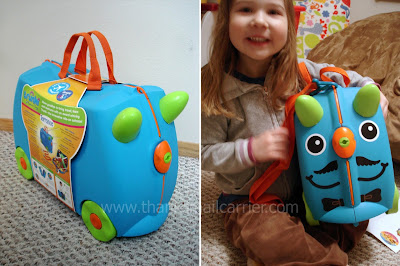 Kids ride-on suitcase
