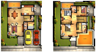 Carmela House Model Floor Plan at Mission Hills Antipolo