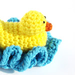 Duck Scrubbie Crochet Pattern