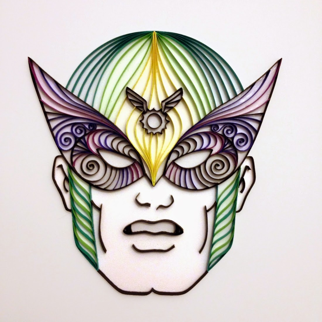 15-Harvey-Birdman-Alia-AliaDesign-Sci-Fi-and-Superhero-Paper-Quilling-www-designstack-co