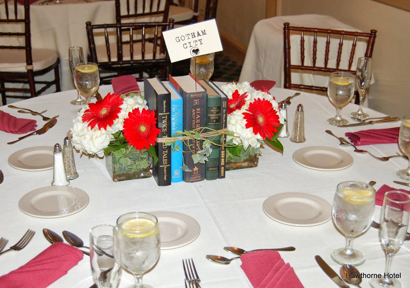 Weddings At The Hawthorne Hotel September - Book table for dinner