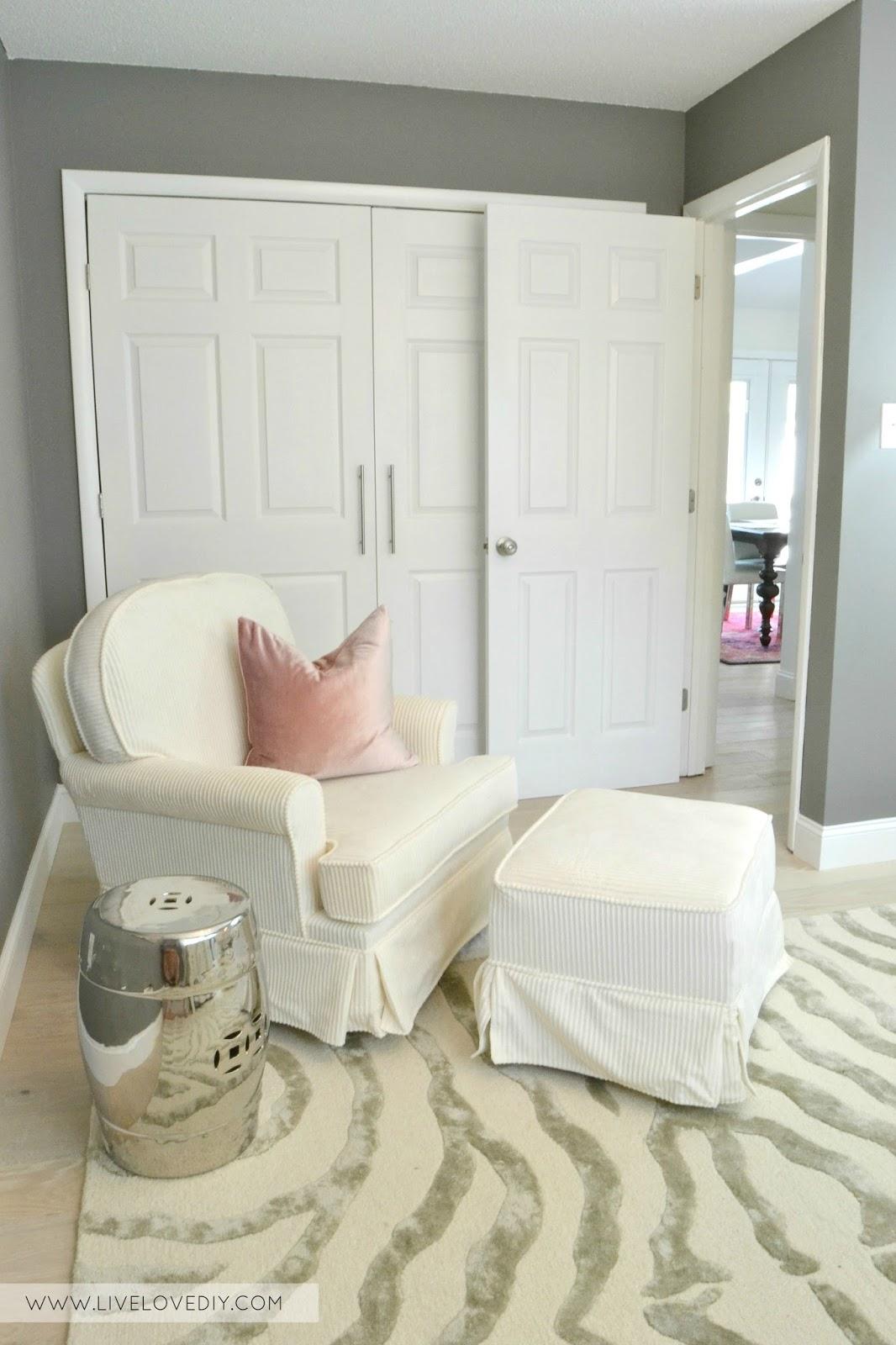 The Nursery Reveal from LiveLoveDIY....LOVE these nursery ideas for ...