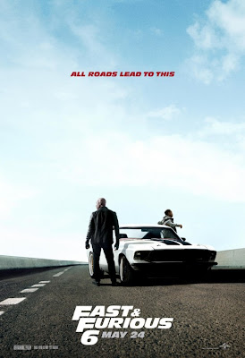 Tyrese Gibson Ludacris Fast and Furious 6 Poster