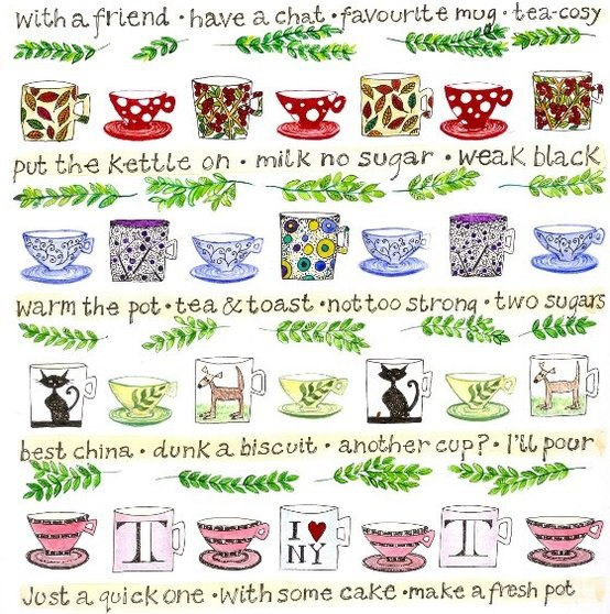 tea idioms