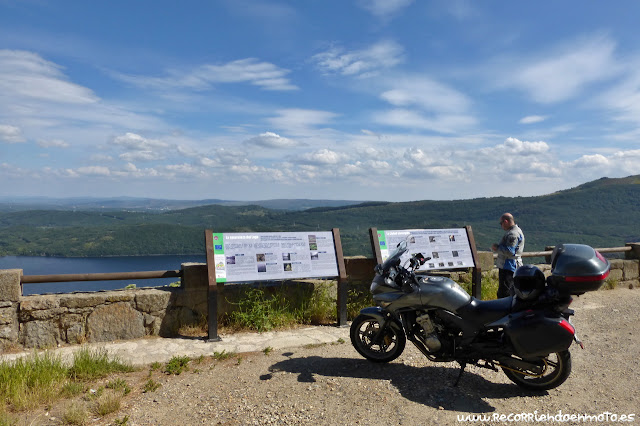 mirador sobre Lago de Sanabria