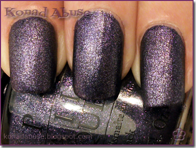 Opi Ink Suede Swatch