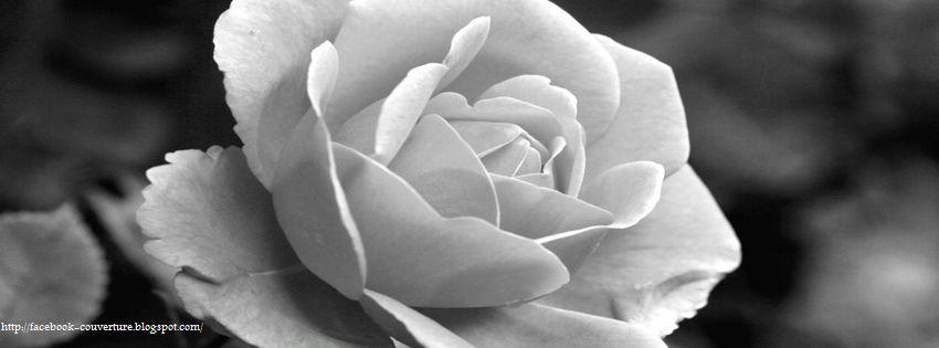 Couverture facebook en noir et blanc photo et image - Image triste noir et blanc ...