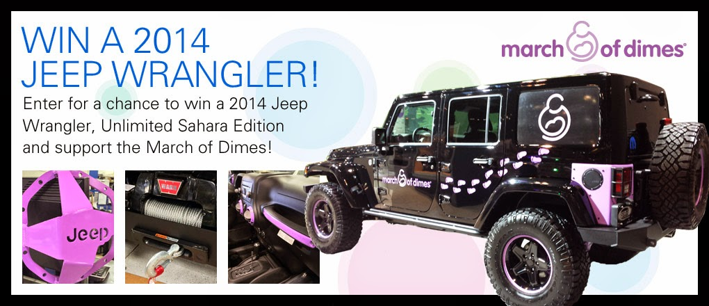 Win a 2014 Jeep Wrangler
