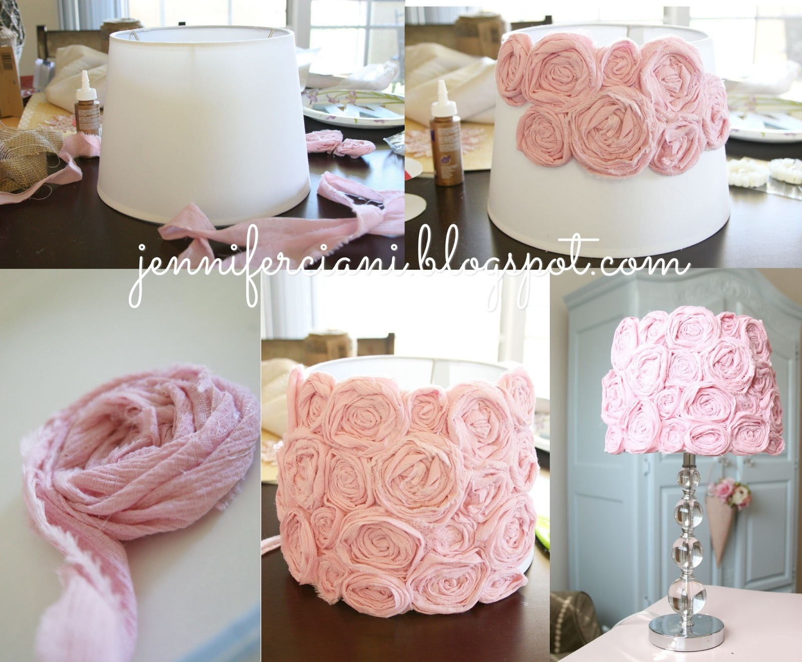 Shabby Chic Lamp Shade | Simply Ciani