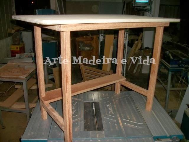 Arte madeira e vida - Mesas para costura ...