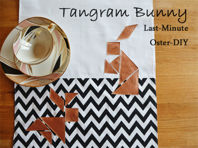 Tangram-Hase - ein Oster DIY @frauvau.blogspot.de