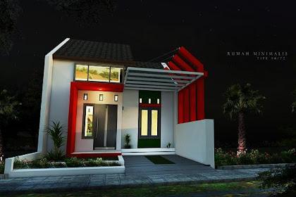 Jasa desain rumah mungil 3D Eksterior Online  450ribu
