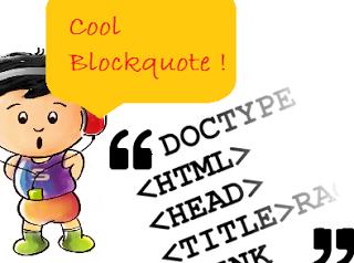 Blockquote selection