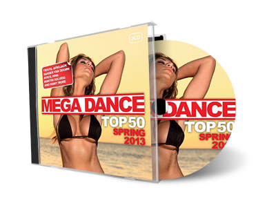 Mega Dance Top 50 Spring (2013)