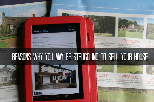 Reasons why you may be struggling to sell your house