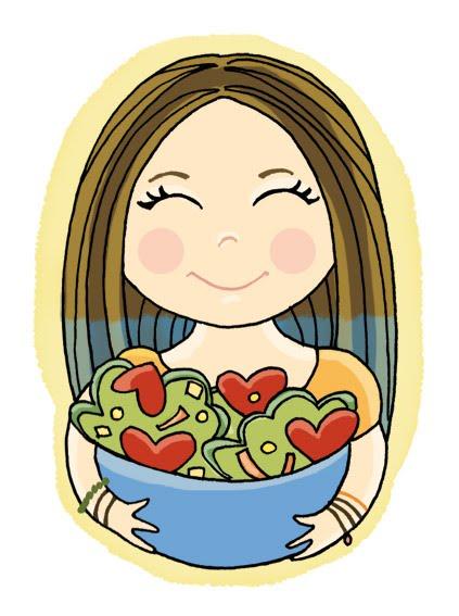 Resultado de imagen de niño comiendo sano dibujo