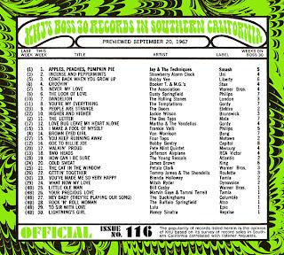 KHJ Boss 30 No. 116 - September 20, 1967