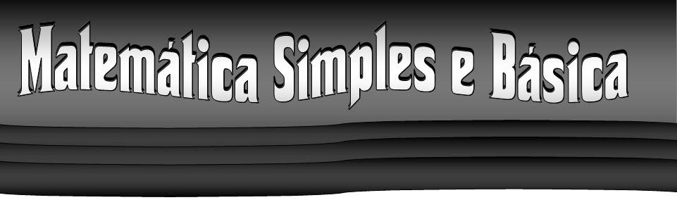 Matemática simples e básica