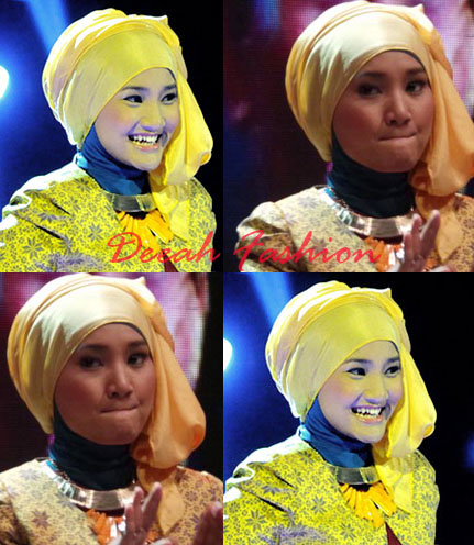 Busana Fatin Shidqia 5 Besar X Factor