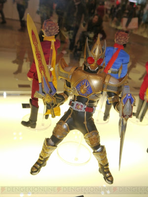 """Medicom RAH Kamen Rider Blade King Form 12"""" figure"""