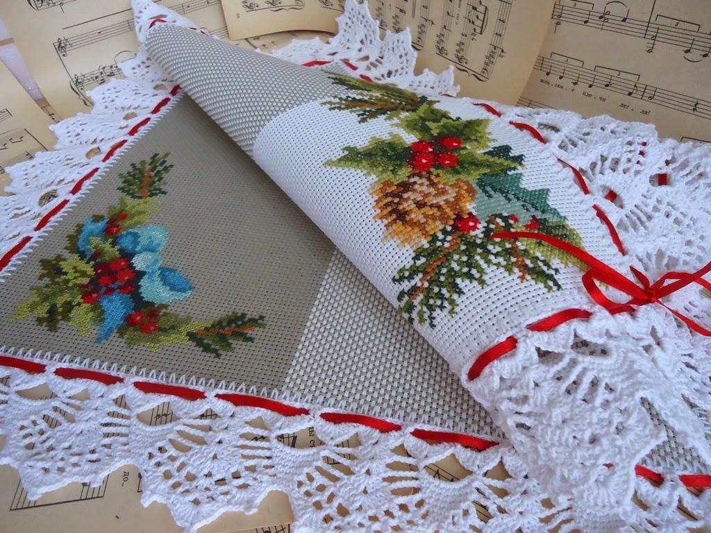 Вышивки для салфетки 1