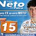 Prefeito Reeleito Neto agradeçe ao 95.095 votos recebidos
