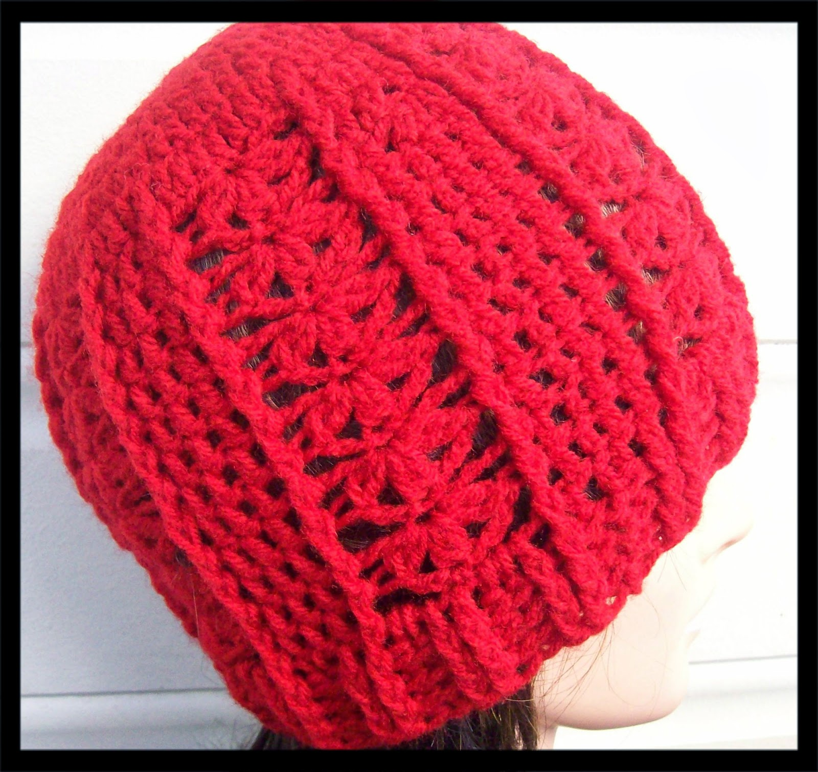 Free Crochet Beanie Pattern For Adults : Free Crochet Patterns By Cats-Rockin-Crochet
