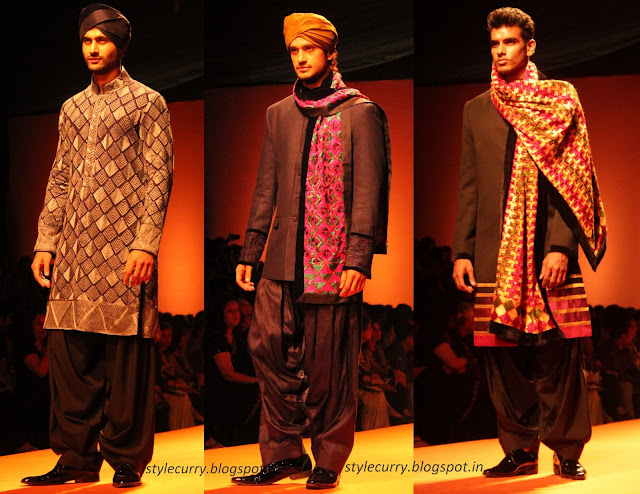 Manish Malhotra Menswear clothing for men at Wills Lifestyle India Fashion Week Autumn Winter 2013