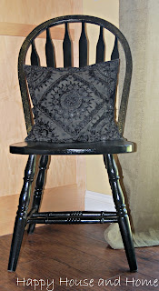 painting chairs, spray painting furniture, painting furniture, painting chairs black