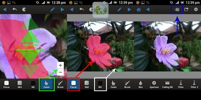 Aplikasi edit foto menjadi fokus untuk Android