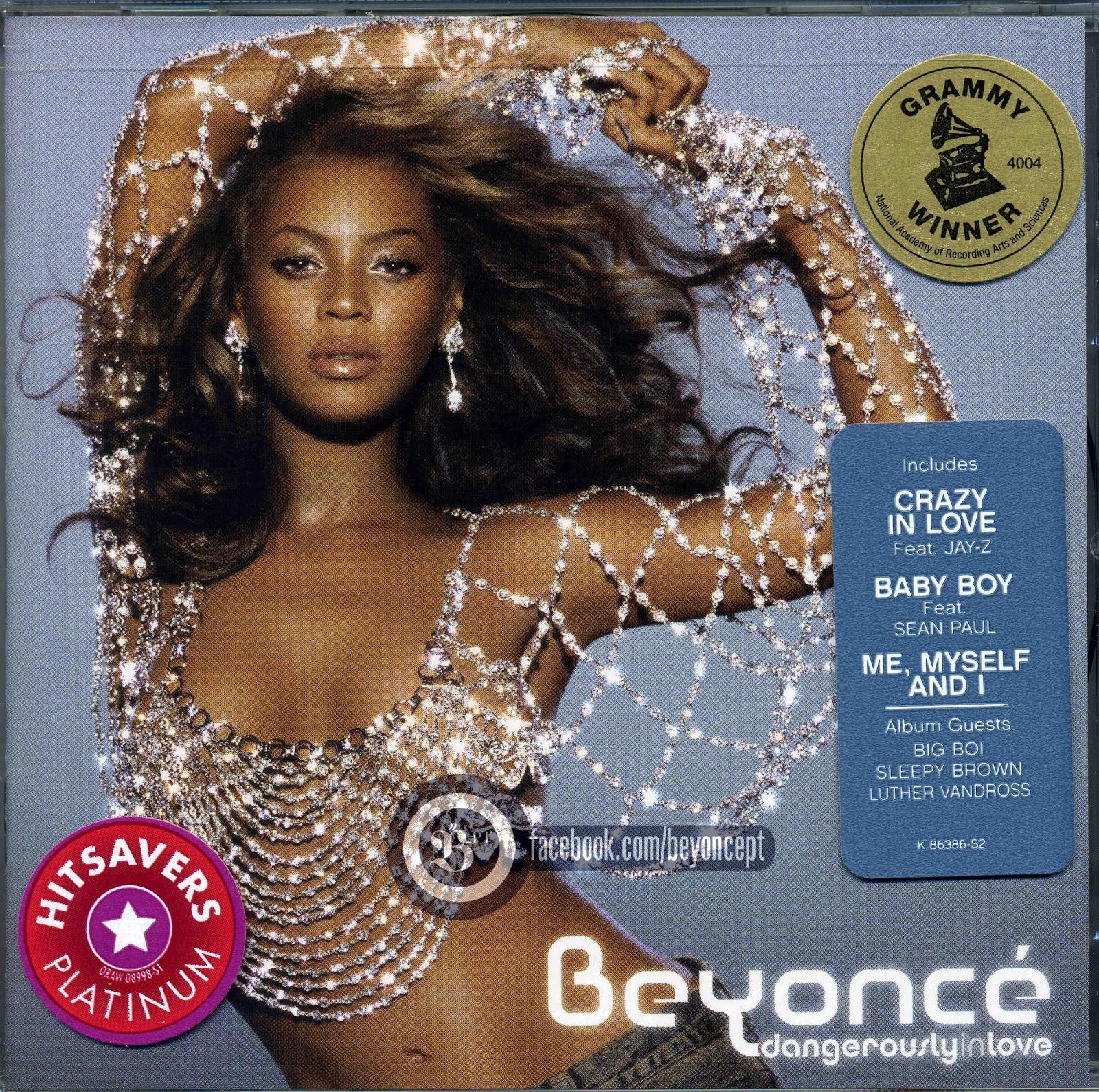 ALBUM Dangerously In Love Beyonc Encartes