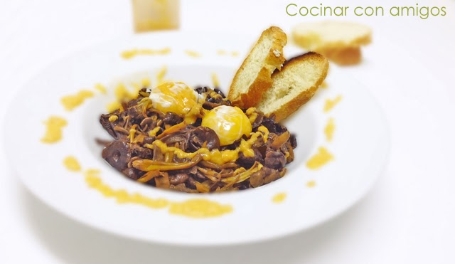 Como Cocinar Angulas | Angulas De Monte Con Yemas Y Alioli Suave Cocinar Con Amigos