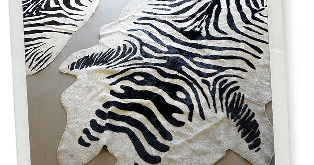 Flor de lisboa my house updates novo tapete zebra for Zebra tapete