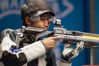 Yang Haoran (China) - Carabina de Ar 10m - Final da Copa do Mundo ISSF de Carabina e Pistola 2013 - Tiro Esportivo - Foto: ISSF/ Reprodução