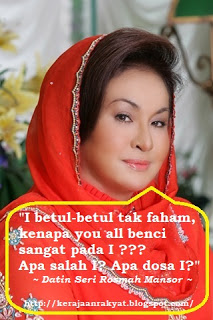 Datin Seri Rosmah Mansor disaman
