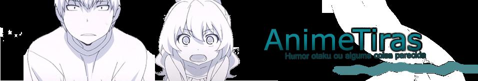 Anime-tiras - Humor otaku ou alguma coisa parecida.