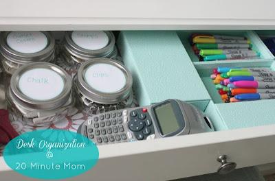 Organizing a Desk