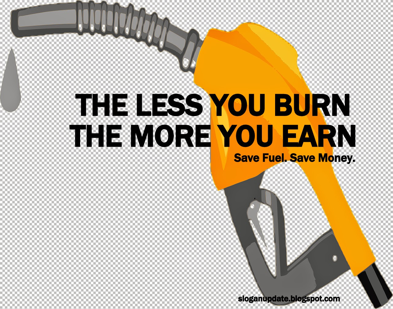 Slogans about save fuel