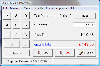small business tax software | Sales Tax Calculator