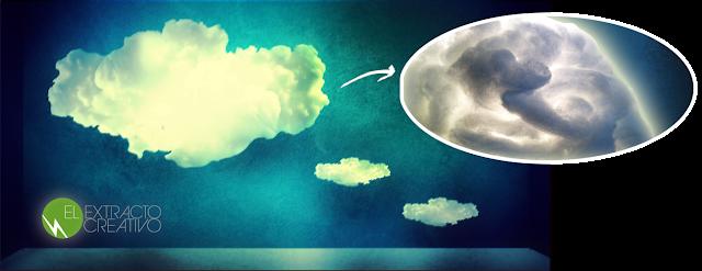 La cama nube con luz LED diseñada por El Extracto Creativo