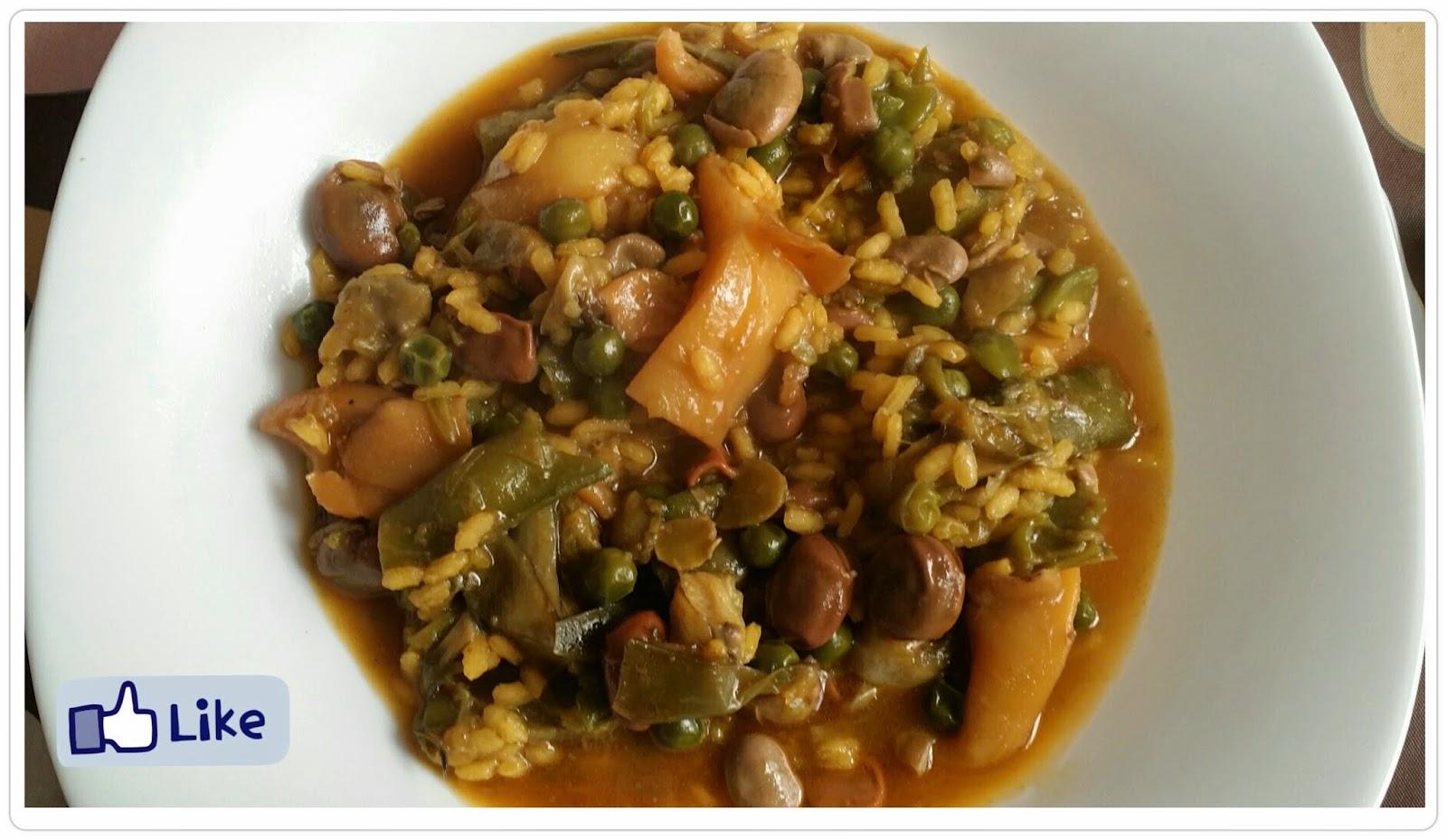 Panceta y demi glace cocina arroz caldoso con habas - Arroz caldoso con costillas y alcachofas ...